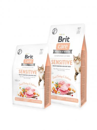 Brit Care Cat Grain-Free Sensitive Healthy Digestion and Delicate Taste 400 g