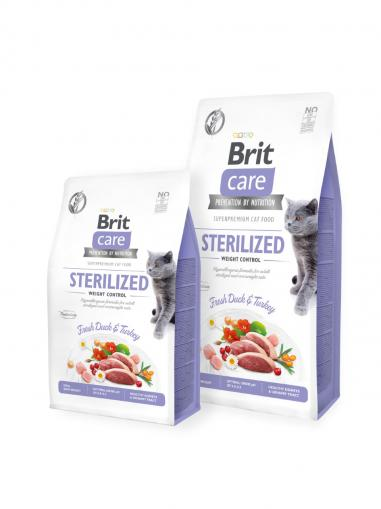 Brit Care Cat Grain-Free Sterilised and Weight Control