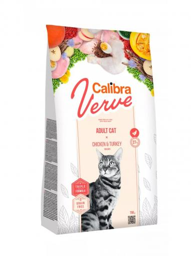 Calibra Cat Verve Grain free Adult Chicken & Turkey