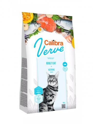 Calibra Cat Verve Grain free Adult Herring