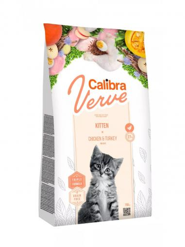 Calibra Cat Verve Grain free Kitten Chicken & Turkey