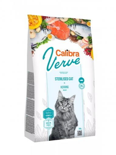 Calibra Cat Verve Grain free Sterilised Herring