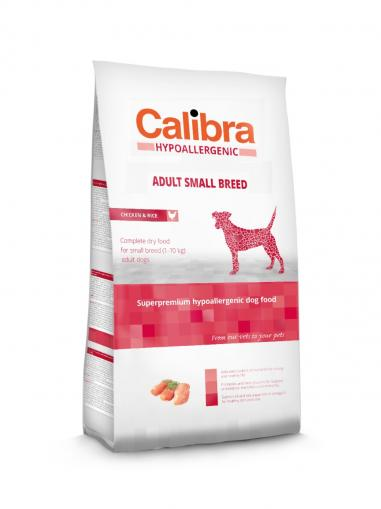 Calibra Dog Adult Small Breed Chicken & Rice 7 kg