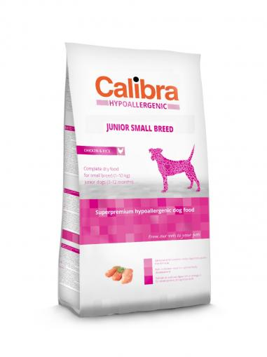 Calibra Dog Junior Small Breed Chicken & Rice