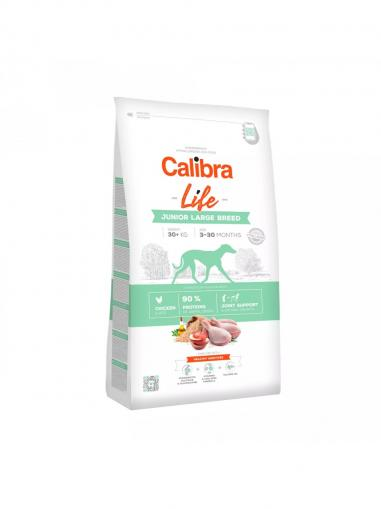 Calibra Dog Life Junior Large Breed Chicken