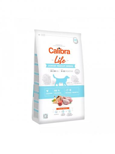 Calibra Dog Life Junior Medium Breed Chicken 2.5 kg