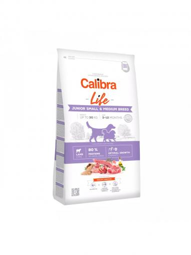 Calibra Dog Life Junior Small & Medium Breed Lamb