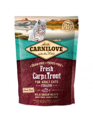 Carnilove Cat Fresh Carp & Trout for Sterillized Cats