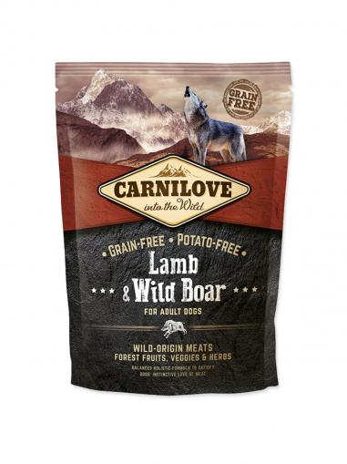 Carnilove Lamb & Wild Boar for Adult Dogs 1,5 kg