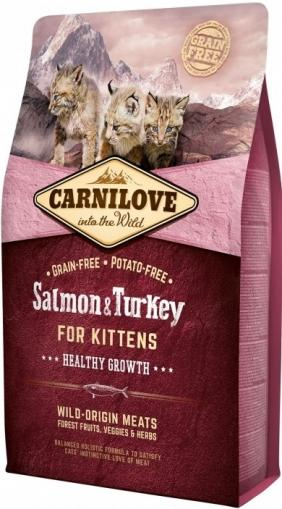 Carnilove Salmon & Turkey for Kittens Healthy Growth