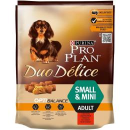 Pro Plan Dog Adult Small & Mini Duo Délice Beef 700 g