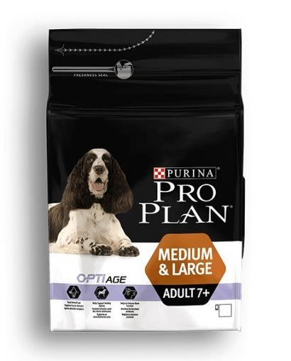 Pro Plan Dog Medium & Large Adult 7+ OptiAge 14 kg