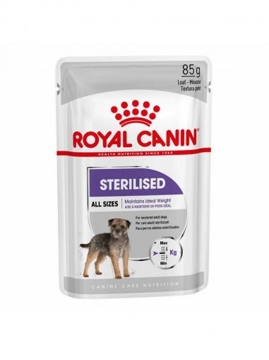 Royal Canin kapsička Dog Sterilized Loaf 85 g