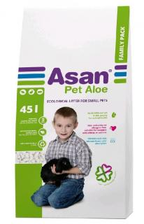 Asan Pet Aloe Family podestýlka 45 l