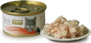Brit Care Konzerva Cat Chicken Breast 80 g