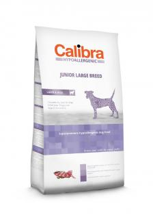 Calibra Dog Junior Large Breed Lamb & Rice 15+3 kg ZDARMA