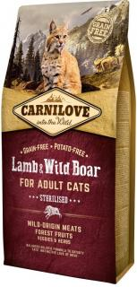 Carnilove Lamb & Wild Boar for Adult Cats Sterilised 400 g