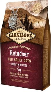 Carnilove Reindeer for Adult Cats Energy & Outdoor 6 kg