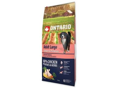 Ontario Adult Large Chicken & Potatoes 15 kg +5 kg ZDARMA