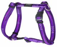 ROGZ postroj Beach Bum Purple Chrome 45-75 cm/20 mm