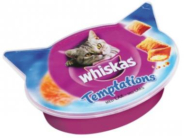 Whiskas Temptations losos 60 g